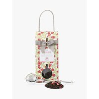 Image of Whittard English Rose Tea Pouch and Infuser, 100g