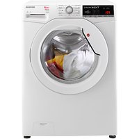 Hoover WDXOA 4106-80 Freestanding Washer Dryer, 10kg Wash/6kg Dry Load, A Energy Rating, 1400rpm Spin, White