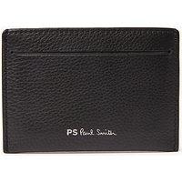 Paul Smith Pebble Leather Card Holder, Black