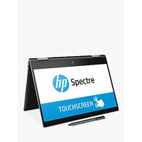 HP Spectre x360 13 Convertible Laptop with Stylus, Intel Core i5, 8GB RAM, 256GB SSD, 13.3 4K Touch Screen, Black