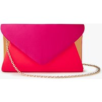 John Lewis Fiona Satin Envelope Clutch Bag