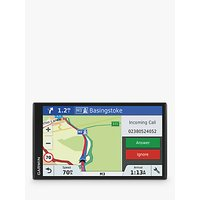 Garmin DriveSmart 61LMT-S Sat Nav With Bluetooth & Lifetime Map Updates, Full Europe