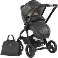egg Special Edition Stroller Base and Seat, Jurassic Black