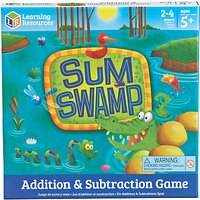 Learning Resources Sum Swamp Additions & Subtraction Game