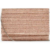 John Lewis Elise Beaded Foldover Clutch Bag