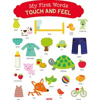 My First Words Touch And Feel Book