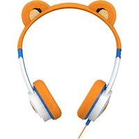 ZAGG ifrogz Little Rockerz Children's Volume Limiting On-Ear Headphones, Tiger