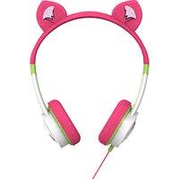 ZAGG ifrogz Little Rockerz Children's Volume Limiting On-Ear Headphones, Kitten
