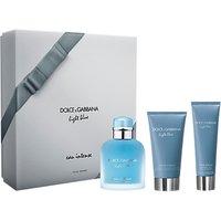 Dolce & Gabbana Light Blue Eau Intense Pour Homme 100ml Eau de Parfum Fragrance Gift Set