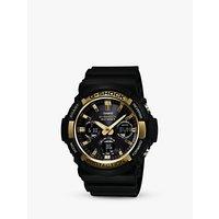 Casio GAW-100G-1AER Men's G-Shock Day Resin Strap Watch, Black