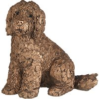 'Frith Sculpture Lucy Cockapoo Dog By Adrian Tinsley, H20cm, Bronze