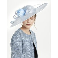 John Lewis Reese Side Up Flower Detail Disc Occasion Hat