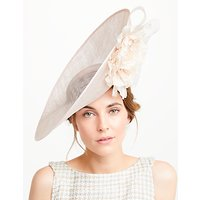 John Lewis Katherine Double Flower Disc Occasion Hat
