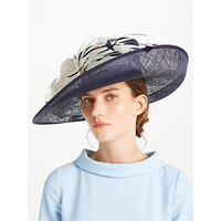 John Lewis Kelly Side Upturn Flower Detail Occasion Hat