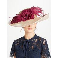 John Lewis Kelly Side Upturn Flower Detail Occasion Hat