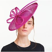 John Lewis Milly Triple Feather Quills Disc Occasion Hat