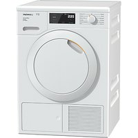 Miele TCE520WP Active Plus Freestanding Heat Pump Tumble Dryer, 8kg Load, A+++ Energy Rating, White