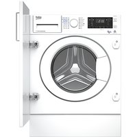 Beko WDIY854310 Integrated Washer Dryer, 8kg Wash/5kg Dry Load, A Energy Rating, 1400rpm Spin, White