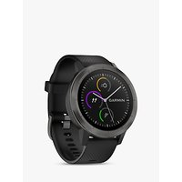 Garmin Vivoactive 3 GPS Smartwatch with Contactless Payment and HR, Black/Slate