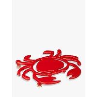 John Lewis Crab Trivet, Red