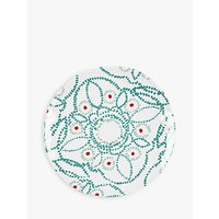 John Lewis Fusion Floral Melamine Side Plate, Multi, Dia.22.8cm