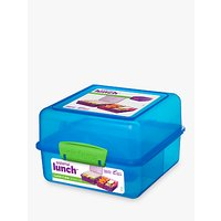 Sistema Lunch Box Cube, 1.4L, Assorted