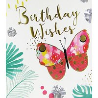 Bellybutton Bubble Birthday Wishes Card
