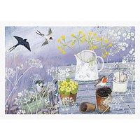 Woodmansterne Gardeners Table Greeting Card