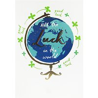 Woodmansterne All The Luck Greeting Card