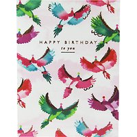 Woodmansterne Birthday Birds Card