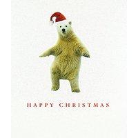Portfolio Polar Bear Christmas Card
