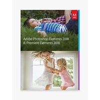 Adobe Photoshop and Premiere Elements 2018, Photo and Video Editing Software