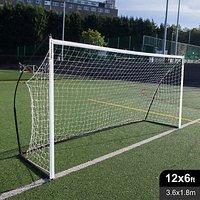 Quickplay Kickster Elite 12' X 6' Football Goal