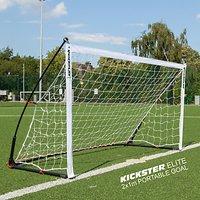 Quickplay Kickster Elite 2 x 1m Football Goal