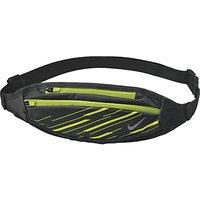 Nike Capacity Waistpack, Black/Volt/Silver