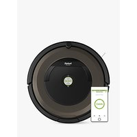 iRobot Roomba 896 Robot Vacuum Cleaner, Black/Brown