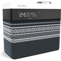 Pure Pop Maxi Portable Digital DAB/FM Radio with Bluetooth, Marius Edition, Grey