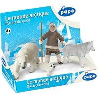 Papo Figurines Display Box: Arctic World