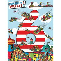 Woodmansterne Where's Wally 6th Birthday Card