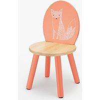 John Lewis Forest Friends Fox Chair, Orange