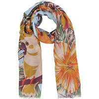 Powder Jungle Print Scarf, Multi