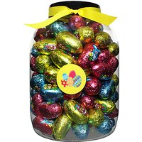 Farhi Giant Tub Of Milk Chocolate Eggs, 1.1kg