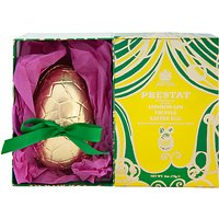 Prestat Lemon Milk Chocolate Easter Egg with Gin Truffles, 170g
