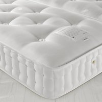 John Lewis Natural Collection Hemp 4000 Comfort Support, King Size, Firm Tension Pocket Spring Zip Link Mattress