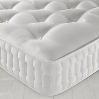 John Lewis Natural Collection Hemp 4000 Comfort Support, Pocket Spring Mattress, Firm Tension, Small Double