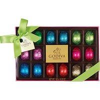 Godiva 18 Foiled Easter Egg Box, 180g