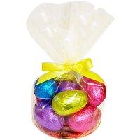 Giant Hollow Easter Eggs In Cellophane Bag, 680g