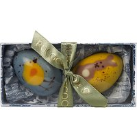Rococo Chocolates 2 Hand Painted Easter Eggs, 100g