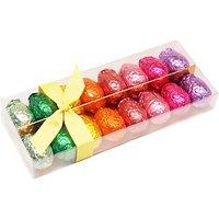 Rainbow Foiled Chocolate Egg Selection, 200g