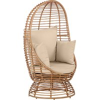 John Lewis Cabana Swivel Pod Garden Chair